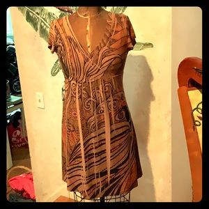 Beautiful jungle print dress